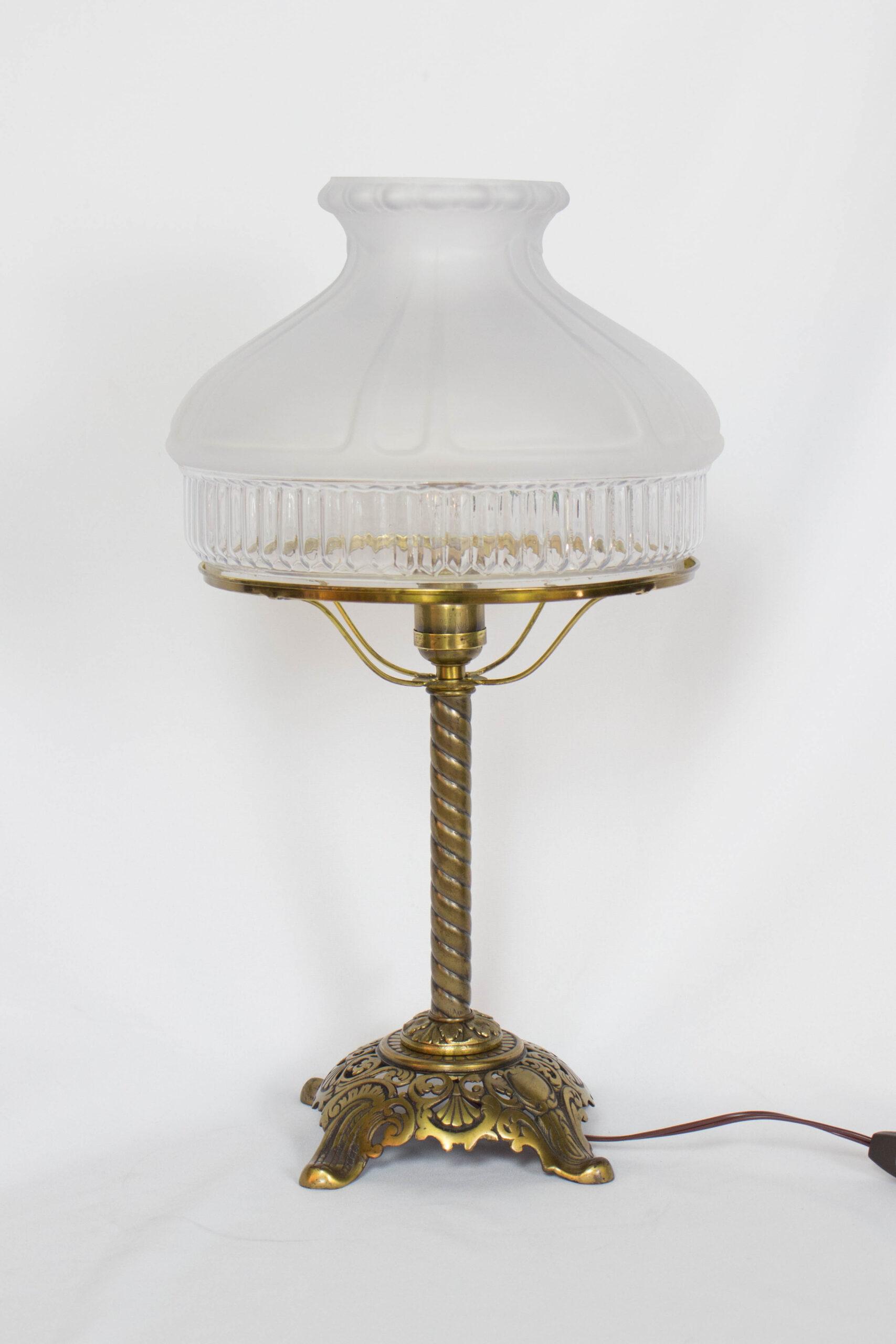 Miller Gas Table Lamp Appleton Antique Lighting
