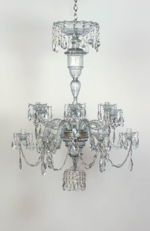Mid to Late18th Century Crystal Chandelier