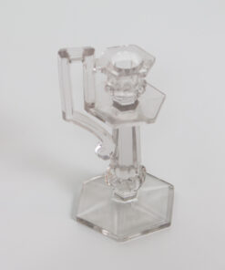 D144: Glass Candlestick